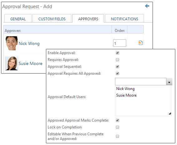 Add Approvals to Multi-Step Forms