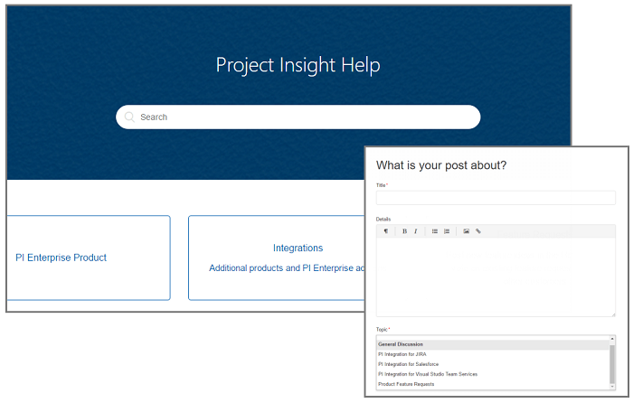 Project Insight Forum