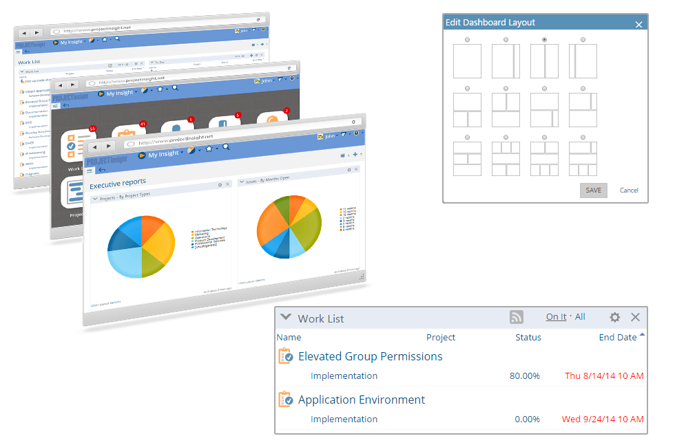 Personalized Project Dashboard